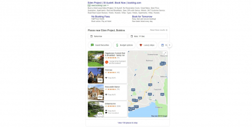 Ragstones Bed & Breakfast Google My Business Listing